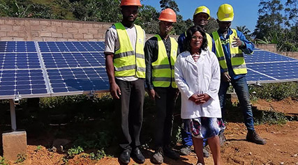 SINES - installation solaire Cameroun